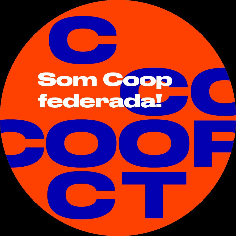 logo amb el text som cooperativa federada