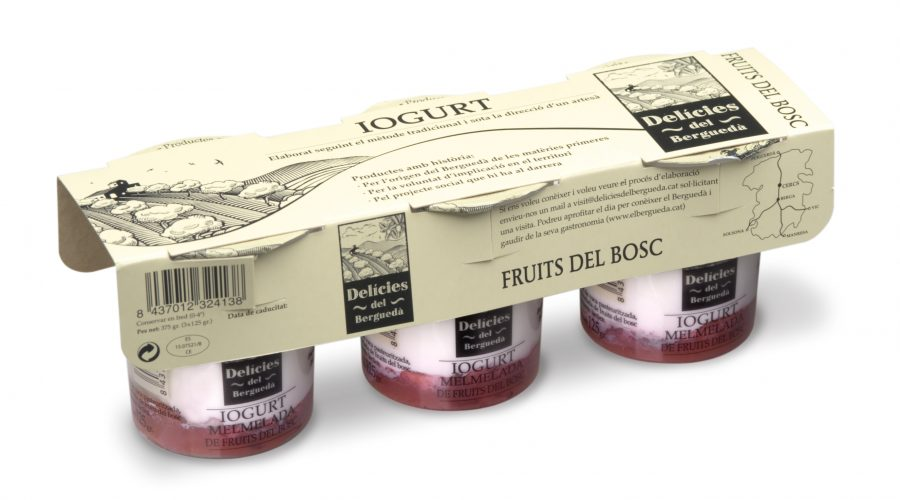 Delícies del Berguedà: yogures con alma social