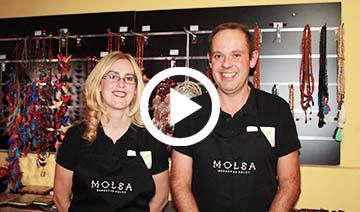 Montse i Josep, propietaris de Molsa Cuida't