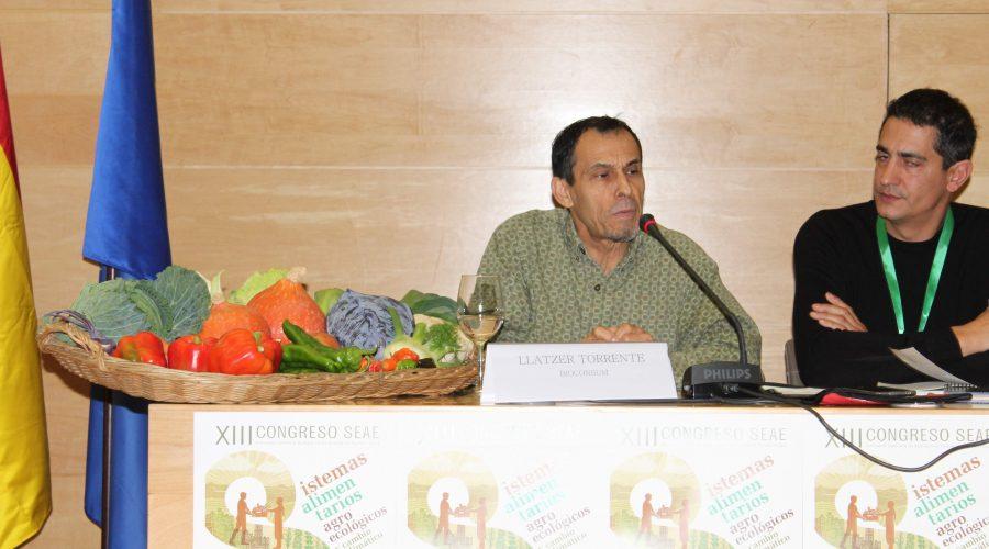 Llàtzer Torrente al XIII Congrés d'Agricultura Ecològica