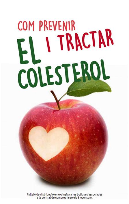Portada del llibret sobre el colesterol de Bioconsum