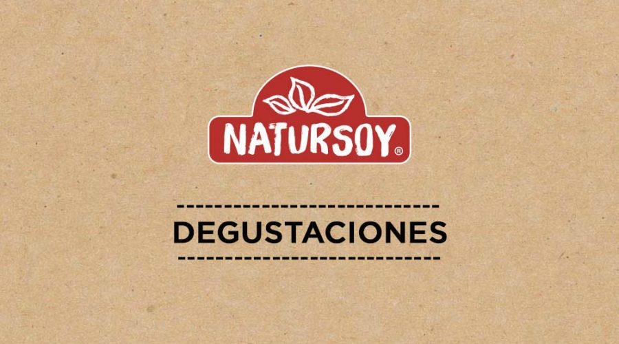 Degustación de productos Natursoy