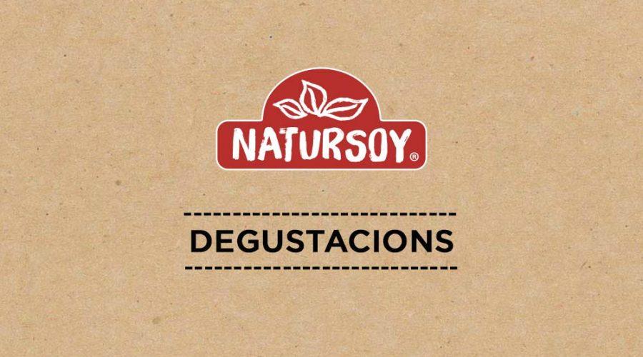 Degustació de productes Natursoy