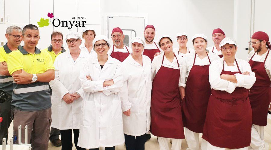 Molsa y Hortec hacen una donación de 630€ a Aliments Onyar