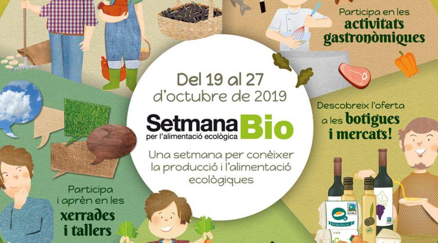 Setmana Bio 2019: Calendari d'activitats