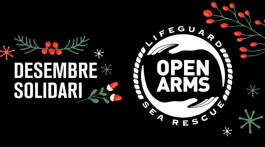 Desembre solidari: per cada compra online donem 1€ a Open Arms