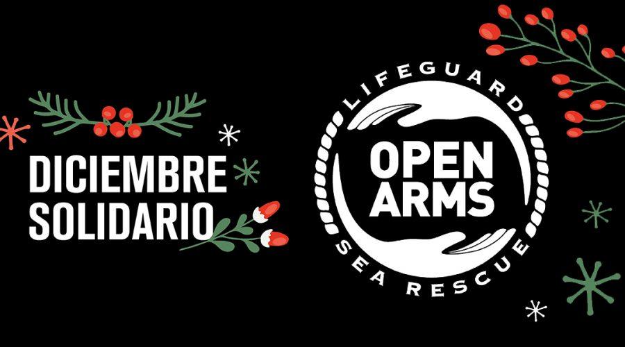 Diciembre solidario: por cada compra online damos 1 € a Open Arms