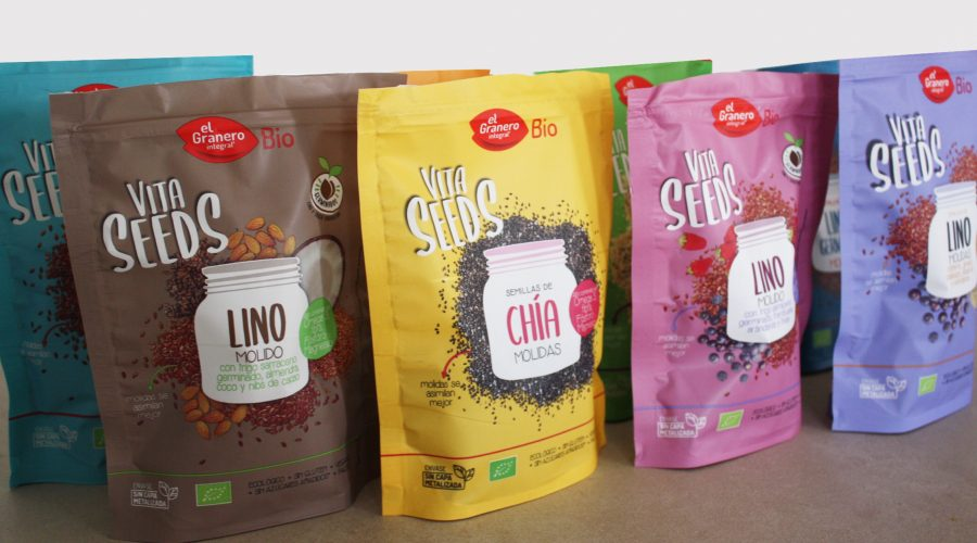 Nous super foods Vita Seeds d'El Granero, brutals!